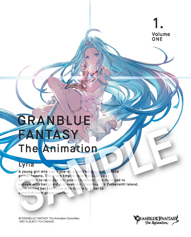 GRANBLUE FANTASY The Animation Blu-ray Volume 1